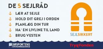 TrygFonden banner, Respekt for vand sejlerråd